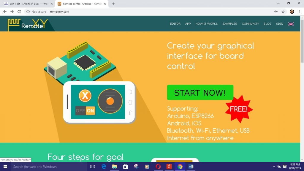 How to Using RemoteXY with Arduino