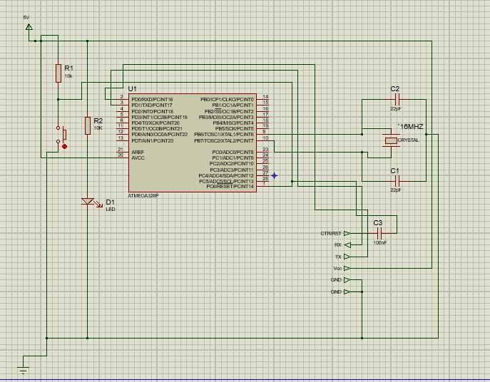 Arduino Standalone circuit