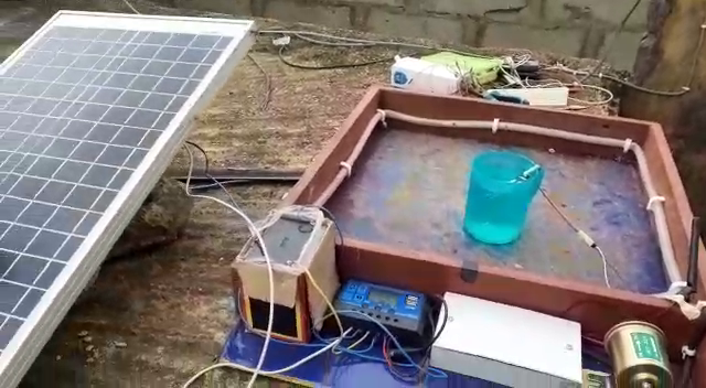 Solar based smart irriagation system